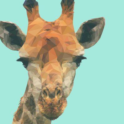 Low Poly Giraffe, 2015