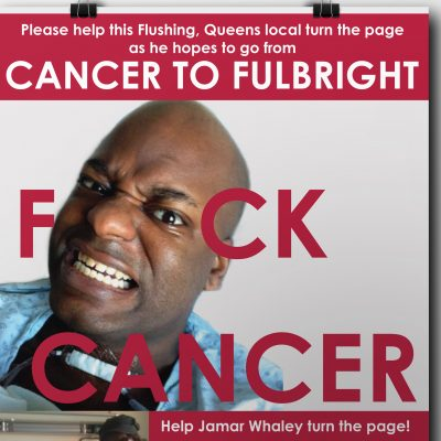 Help Jamar, Poster and Flyer Design, 2013