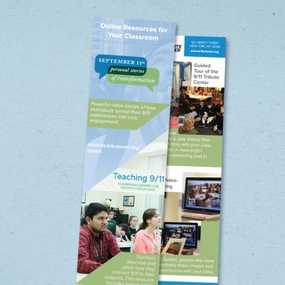 9/11 Tribute Center Education Bookmark, 2014