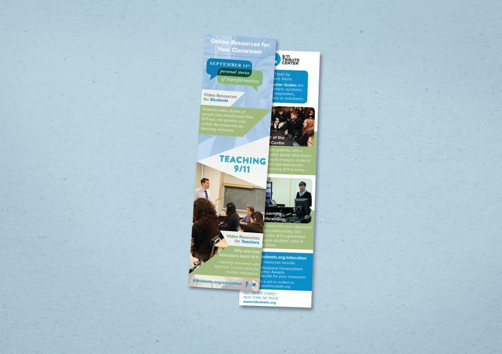 9/11 Tribute Center Education Bookmark, 2014