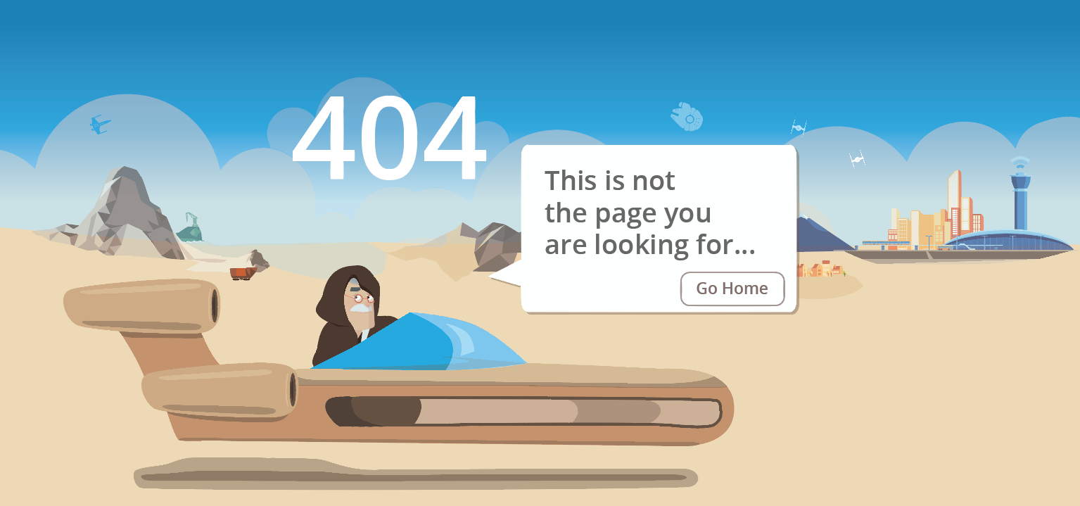 404 Page Design Process Day 1