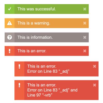 Optym VIEWR, Alerts, 2015